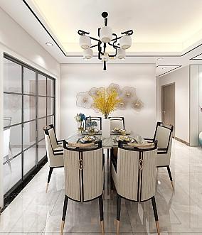 98㎡新中式,轻松又端庄的设计感厨房2图中式现代设计图片赏析