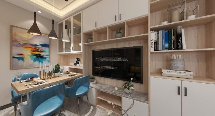 常宁培元小区公租房现代风格装修设计施工