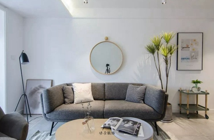65m²小公寓,洗手台变中岛