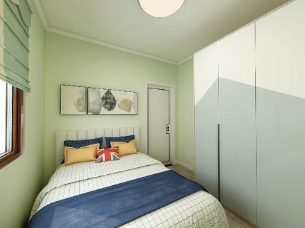 理想新城102平米新中式卧室