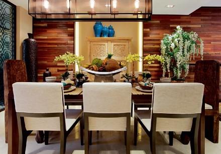 138m²中式风,舒适极为惬意的房间厨房
