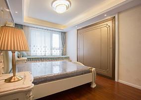 钟楼区保利公园102㎡简欧风格完工实拍卧室欧式豪华设计图片赏析