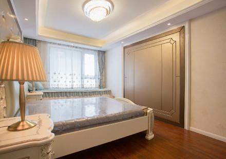钟楼区保利公园102㎡简欧风格完工实拍卧室