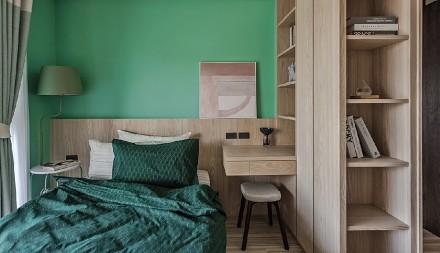 走进幽邃奢雅小酒馆质感公寓卧室