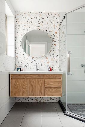 【北欧】海盐与薄荷清凉碰撞,打造完美婚房卫生间北欧极简设计图片赏析