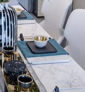 160平新中式装修,感受江南气韵!厨房中式现代设计图片赏析