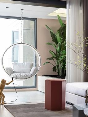 现代自然风,舒适的空间体验感阳台其他设计图片赏析