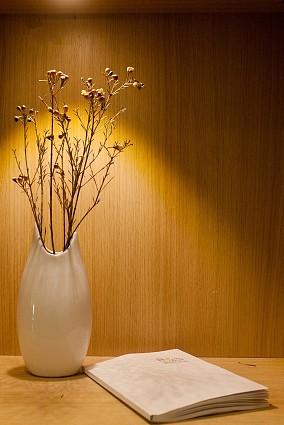 100㎡自然和风,喜用木修,不施油彩玄关日式设计图片赏析