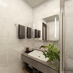 以现代之形续写东方之韵优雅而低调卫生间中式现代设计图片赏析