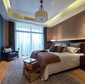 138.㎡|欧式古典有品位的家居卧室1图欧式豪华设计图片赏析