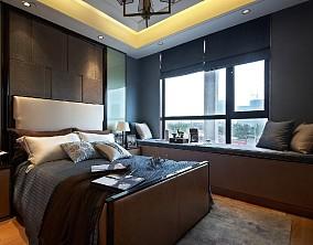 138.㎡|欧式古典有品位的家居卧室2图欧式豪华设计图片赏析