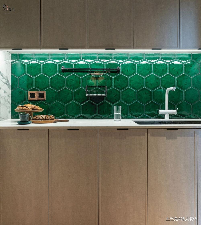 71㎡北欧露台就是这个小家的超级彩蛋!餐厅北欧极简厨房设计图片赏析