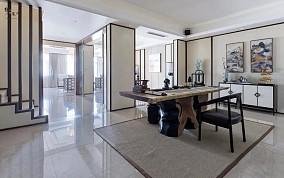 639㎡新中式别墅,优雅有品味!功能区2图中式现代设计图片赏析