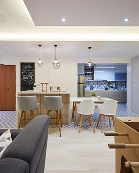 103质朴清新极简风格餐厅1图中式现代设计图片赏析