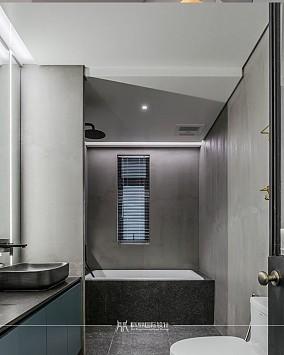 140平方loft,不一样的风格卫生间欧式豪华设计图片赏析