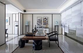 639㎡新中式别墅,优雅有品味!功能区1图中式现代设计图片赏析