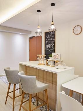103质朴清新极简风格厨房中式现代设计图片赏析
