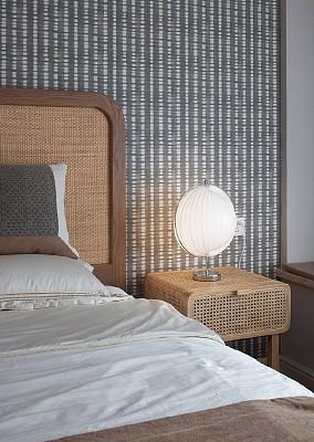 140平混搭风,满眼的复古治愈感卧室潮流混搭设计图片赏析