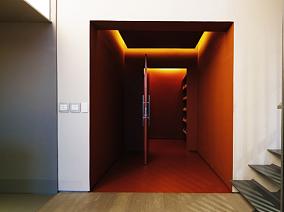 公寓改造巧置四个功能盒子玄关现代简约设计图片赏析