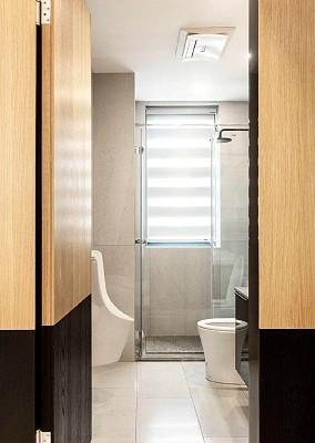 160平现代风,让生活跟着节拍走卫生间现代简约设计图片赏析