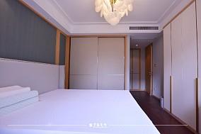 云溪新语精装房.清新感的中式风格小家卧室3图中式现代设计图片赏析