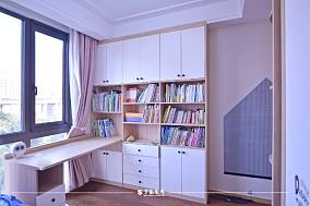 云溪新语精装房.清新感的中式风格小家卧室1图中式现代设计图片赏析