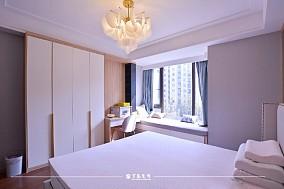 云溪新语精装房.清新感的中式风格小家卧室5图中式现代设计图片赏析