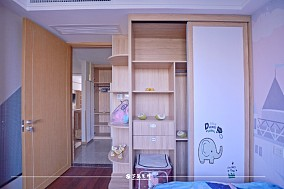 云溪新语精装房.清新感的中式风格小家卧室7图中式现代设计图片赏析