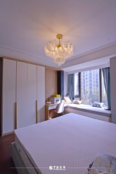 云溪新语精装房.清新感的中式风格小家卧室6图