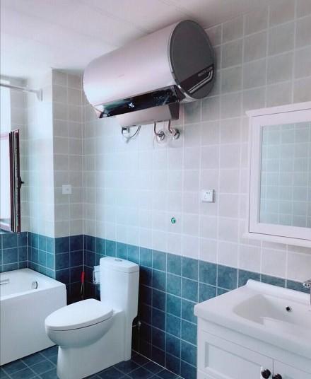 地中海二居室生活中的片刻宁静卫生间