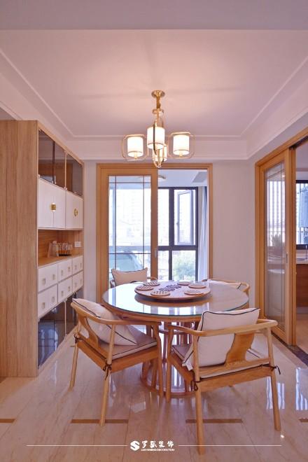 云溪新语精装房.清新感的中式风格小家厨房1图