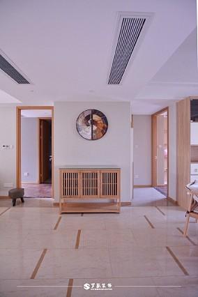 云溪新语精装房.清新感的中式风格小家玄关设计图片赏析