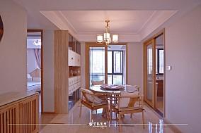 云溪新语精装房.清新感的中式风格小家厨房3图中式现代设计图片赏析