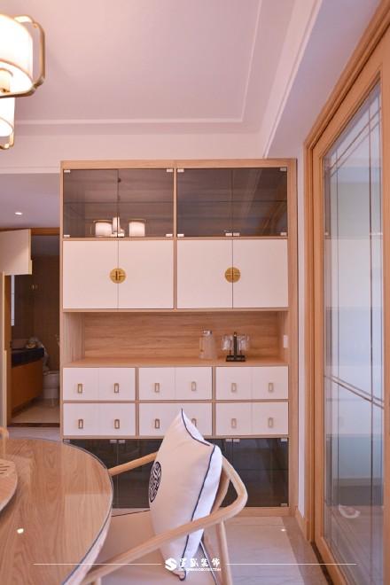 云溪新语精装房.清新感的中式风格小家厨房2图
