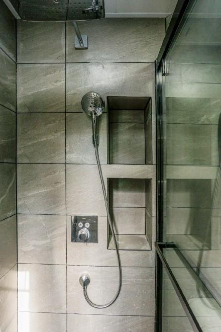 80m²混搭轻奢二居,个性潮流家居卫生间