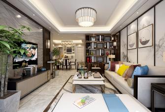 新中式风格 三室 案例
