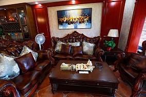 美式风格!华宇观澜华府,190m客厅3图美式经典设计图片赏析