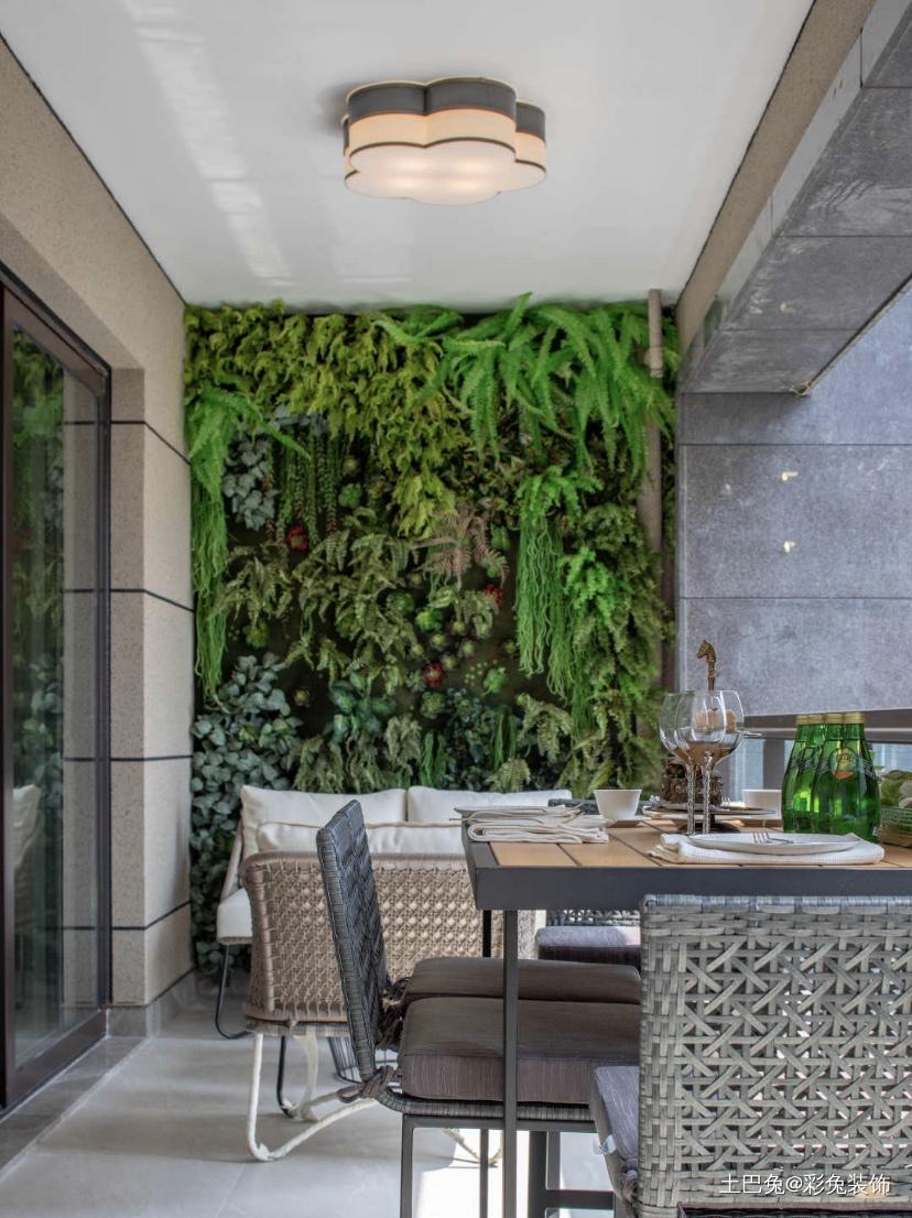 浪漫优雅轻法式生活点滴在指尖阳台烤箱其他阳台设计图片赏析