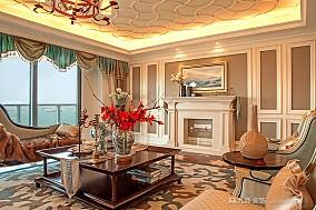 金都海尚国际7#样板房实景客厅2图欧式豪华设计图片赏析