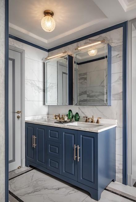 打造华丽又具时尚的精致美式轻奢生活卫生间