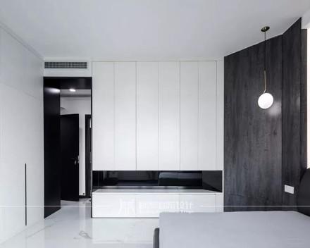 时尚优雅的黑白配,营造华丽端庄的生活空间功能区