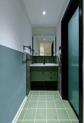 60平混搭风,打造一个现代轻复古的家卫生间潮流混搭设计图片赏析