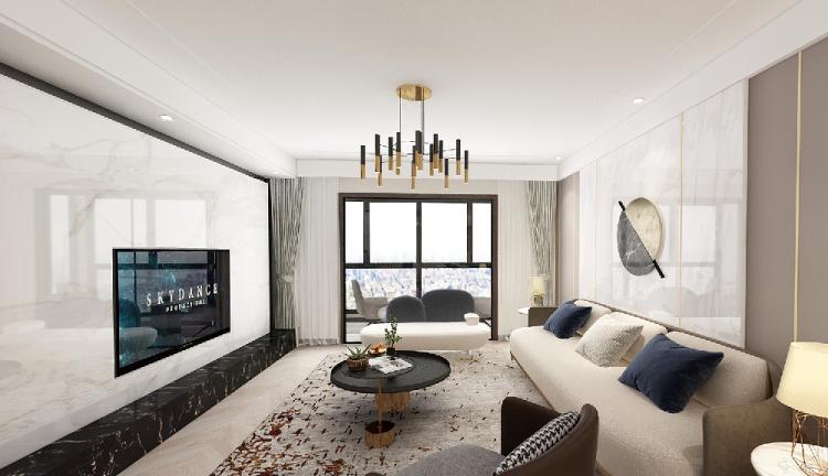 大平层室现代简约风格