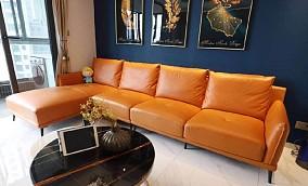 """140平现代风,一个带""""沟通""""功能的房子客厅1图现代简约设计图片赏析"""