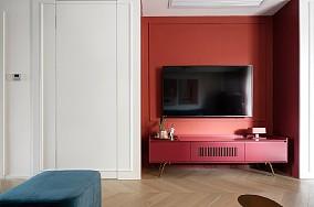 逍邦ArtLife127㎡现代轻奢客厅现代简约设计图片赏析