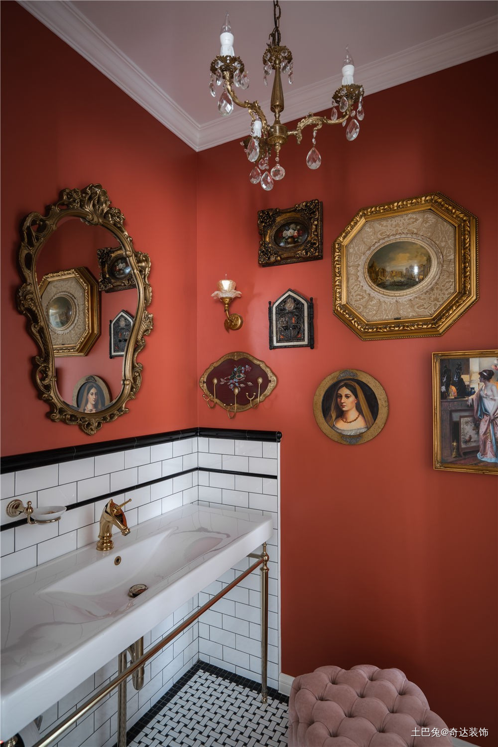 285㎡中古风有故事的古董店卫生间其他卫生间设计图片赏析