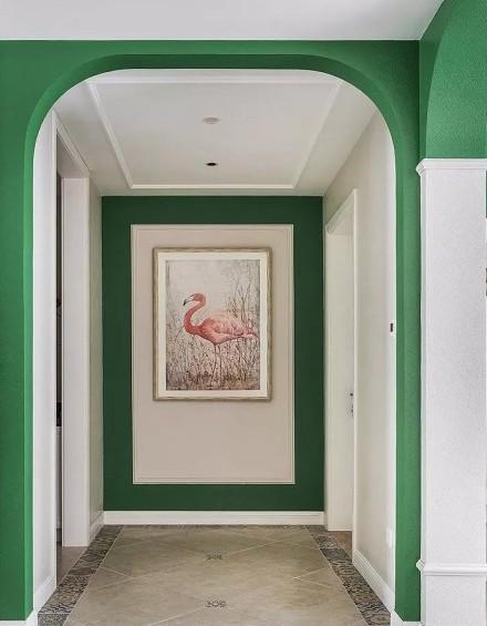温馨舒适而不失高级感150㎡四居室玄关