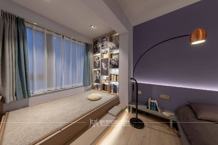47m²小两居,北欧极简温馨舒适卧室