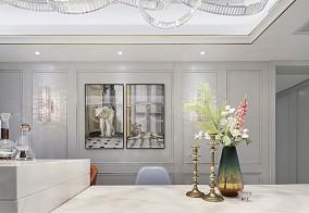 100㎡法式情调,满足对法式轻奢的想象厨房欧式豪华设计图片赏析