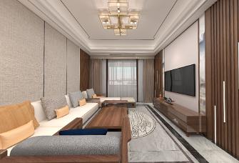 艾都豪庭136平,传统现代结合新中式